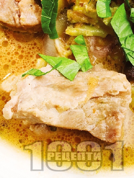 Соеви хапки с картофи и зеленчуци - снимка на рецептата